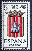 Arms Of Provincial Capitals Shows Castellon