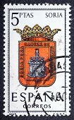 Arms Of Provincial Capitals Shows Soria