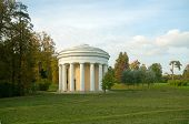 Temple Of Friendship In Pavlovsk Park. St. Petersburg, Russia
