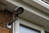 stock photo of security  - CCTV Security Camera for Home Security  - JPG
