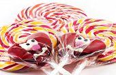 Spiral Fruit Lollipops