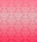 Luxury pink ornamental pattern