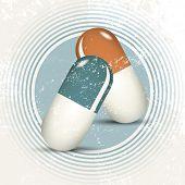 Natural medicine - retro pills - alternative healing