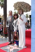 LOS ANGELES - MAY 5:  Beau Bridges, Sally Field, Jane Fonda at the Sally Field Hollywood Walk of Fam