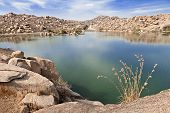 Beauty Lake In Hampi