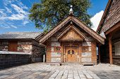image of himachal pradesh  - Jagti Patt Temple in Naggar Himachal Pradesh India - JPG
