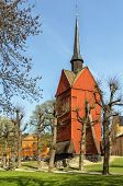 Bell Tower Of St. Johannes Church, Stockholm