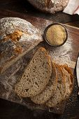 Organic Homemade Ancient Grain Bread