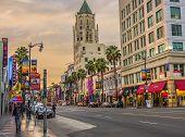 Hollywood boulevard, California