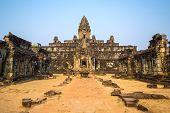 Bakong Prasat temple in Angkor Wat complex, Siem Reap, Cambodia