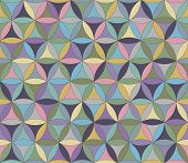 Flower Of Life Seamless Pattern Pastel
