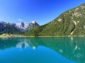 Peaceful view of the Achensee Lake in Tirol, Austria, Central Europe