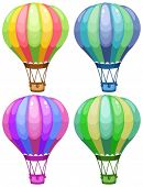 picture of sandbag  - Illustration of a set of balloons - JPG