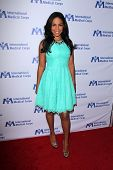 LOS ANGELES - OCT 23:  Sanaa Lathan at the International Medical Corps 2014 Annual Awards Celebration at Beverly Wilshire Hotel on October 23, 2014 in Beverly Hills, CA