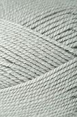 Knitting yarn texture, close up