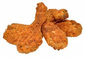 picture of southern  - Spicy Southern fried chicken drumsticks - JPG