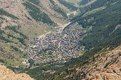 Zermatt City In The Valley, Switzerland