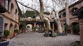 Sedona, Az, Feb 9: The Buildings Of Tlaquepaque, February 9, 2014. Featuring Artisan Shops And Galle