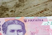 Ukrainian Money Background Made Of Two Hundred Hryvnia Notes