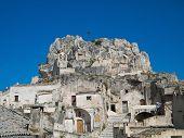 Madonna de Idris Church. Sassi of Matera. Basilicata.