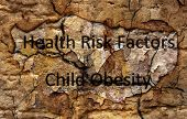 picture of obesity children  - Close up of Health risk factors  - JPG