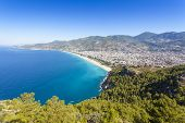Mediterranean Sea - Beach in Alanya - Turkey