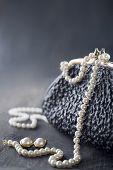 Old Elegant Vintage Handbag