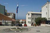 Makarska, Croatia - July 2014: Seascape From Makarska, Croatia.