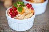 pic of millet  - sweet pumpkin porridge with berries and millet  - JPG