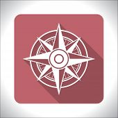 Wind rose icon