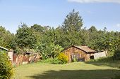 image of primitive  - Primitive country house with garden in Kikuyu near Nairobi Kenya - JPG