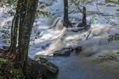 Waterfall At Burgess Falls State Park