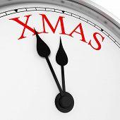 Xmas On A Clock