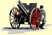 artilleryman World War I