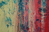 Abstract Painting Background - close-up background