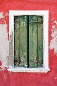 Burano. Old Window