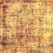 Old-style background, aging texture. With different color patterns: yellow, brown