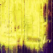 Old, grunge background texture. With different color patterns: yellow, purple (violet), brown