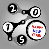 Happy New Year 2015 - Created As Industrial Wishes