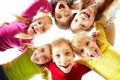 stock photo of happy kids  - Image of happy kids representing youth and fun - JPG