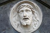 Bas-relief Of Jesus Face