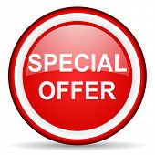 special offer web icon