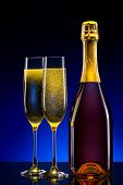 luxury champagne background