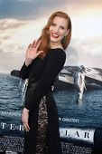 LOS ANGELES - OCT 26:  Jessica Chastain at the