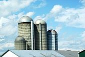 barn silos