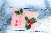 picture of aquifolium  - Beautiful Cristmas gift with European Holly  - JPG
