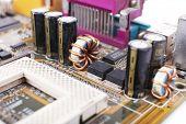 image of rework  - Computer motherboard - JPG