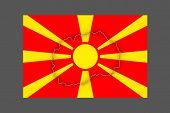 picture of macedonia  - Map of Macedonia - JPG
