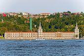 stock photo of ottoman  - Kuleli Military High School is the first military high school in Turkey located in Cengelkoy Istanbul - JPG