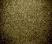 stock photo of tan lines  - Dark tan leather texture or background for design - JPG